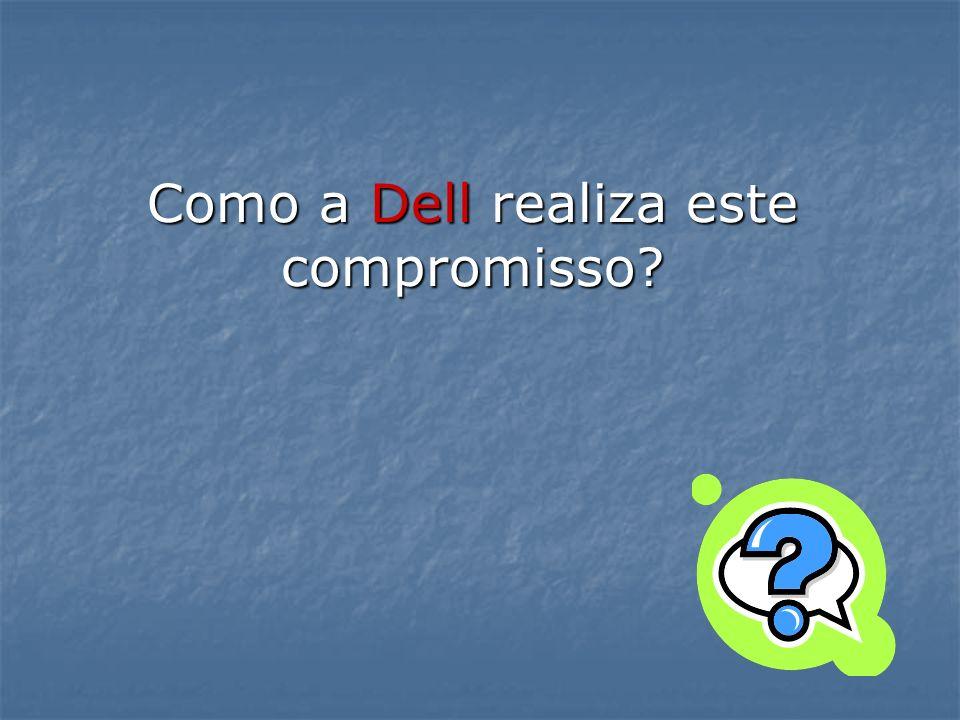 Como a Dell realiza este compromisso