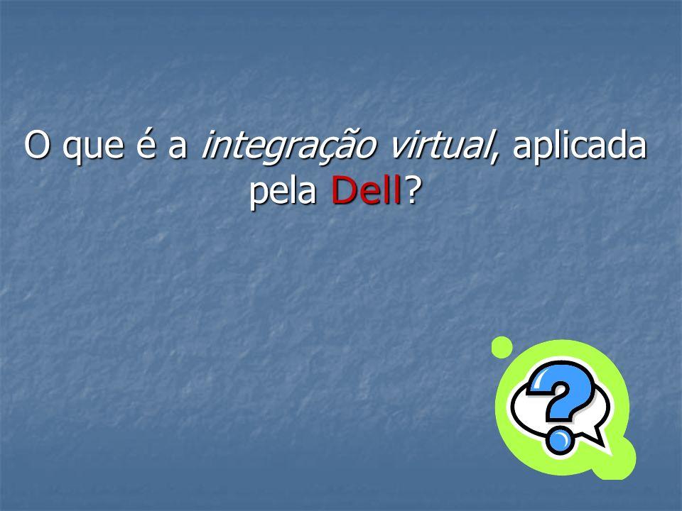 O que é a integração virtual, aplicada pela Dell