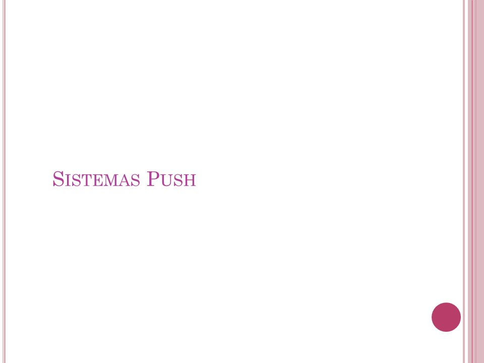 Sistemas Push