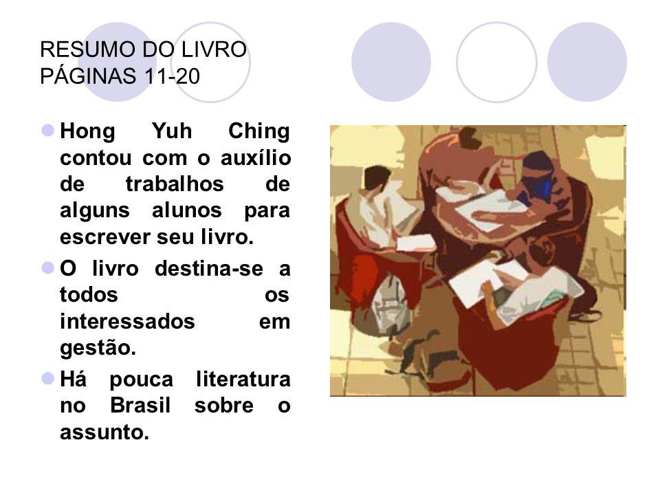 RESUMO DO LIVRO PÁGINAS 11-20
