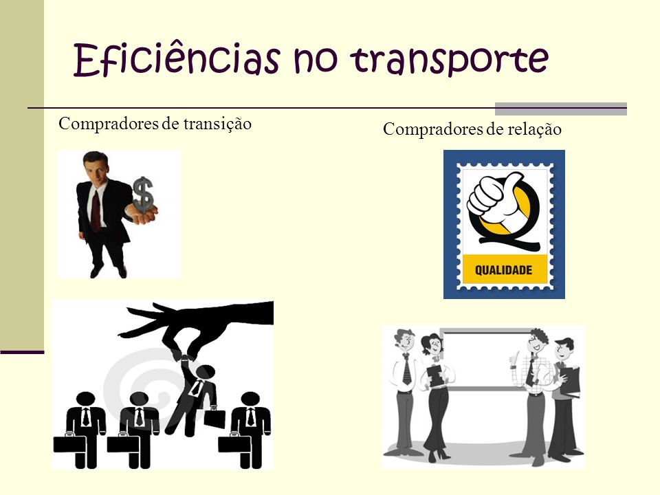 Eficiências no transporte