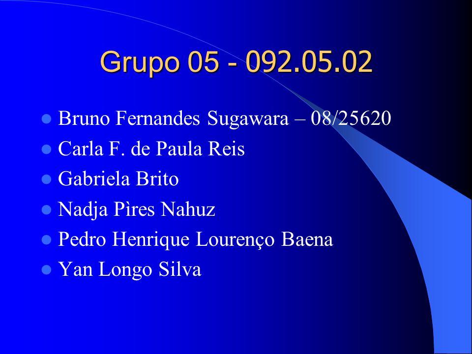 Grupo 05 - 092.05.02 Bruno Fernandes Sugawara – 08/25620