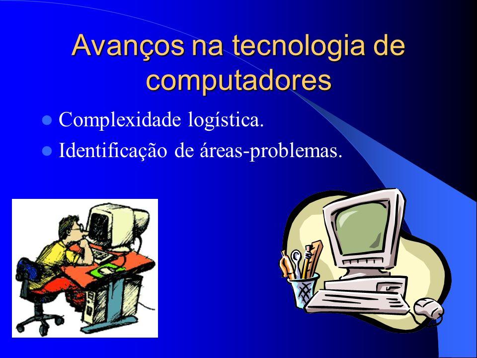 Avanços na tecnologia de computadores