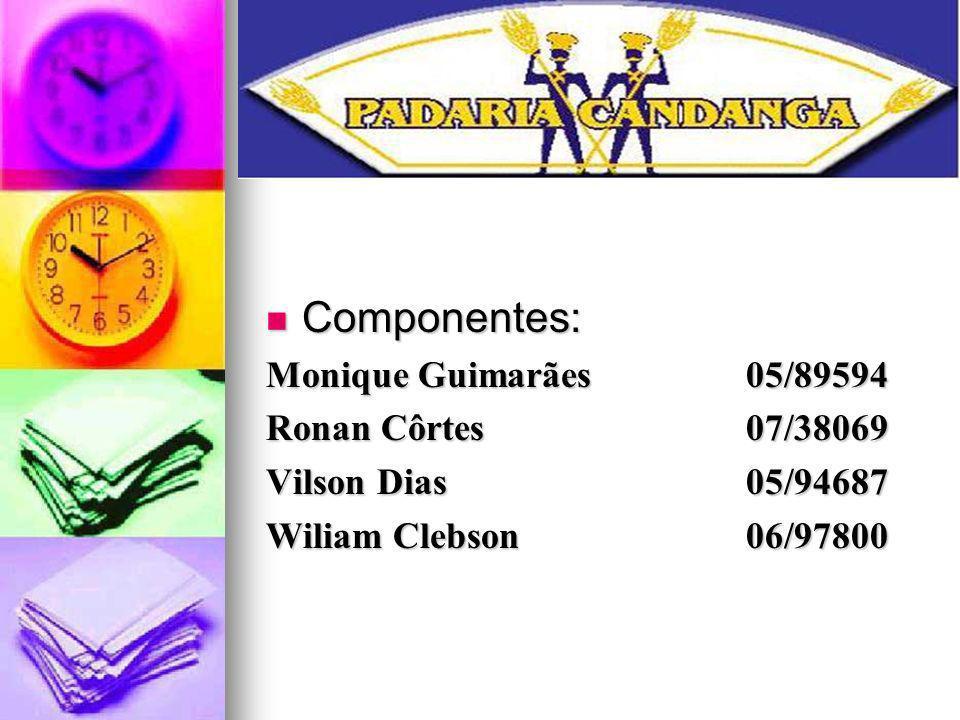 Componentes: Monique Guimarães 05/89594 Ronan Côrtes 07/38069