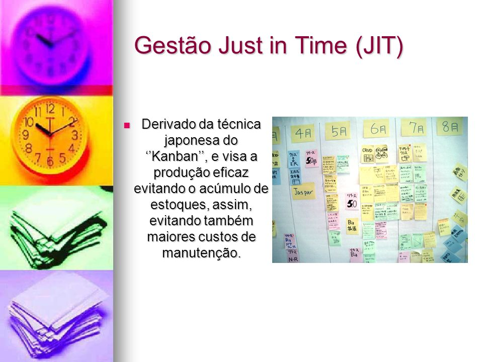 Gestão Just in Time (JIT)