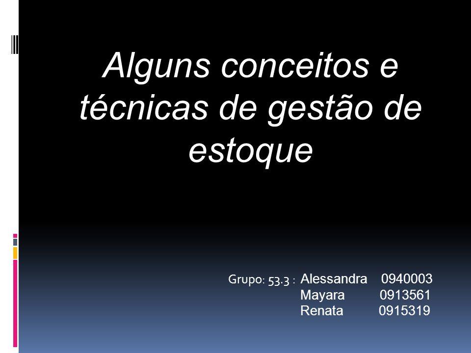 Grupo: 53.3 : Alessandra 0940003 Mayara 0913561 Renata 0915319