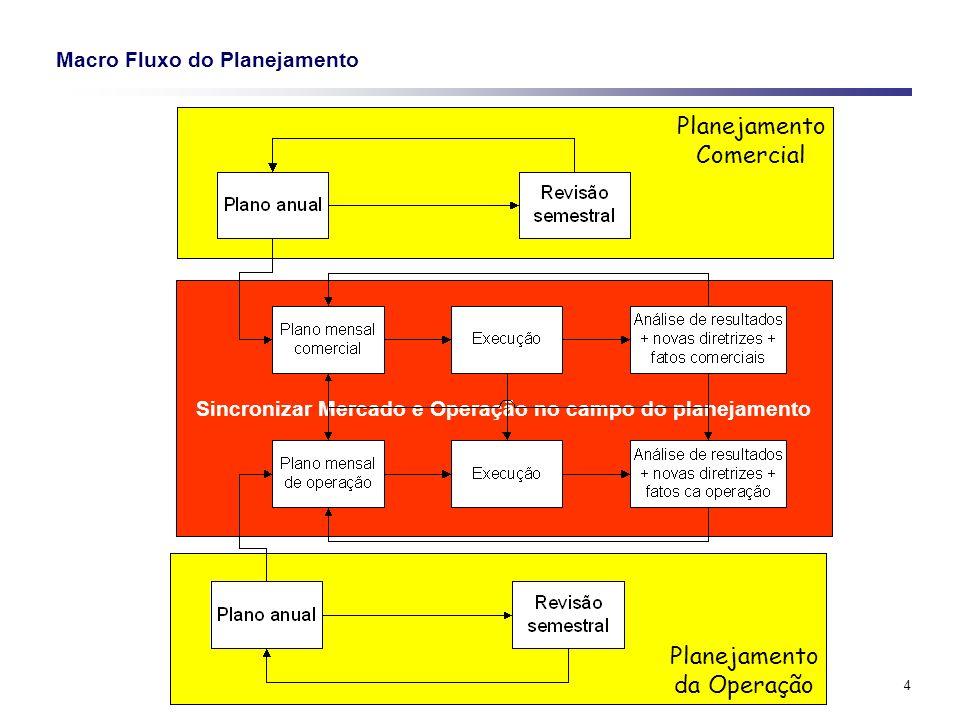 Macro Fluxo do Planejamento