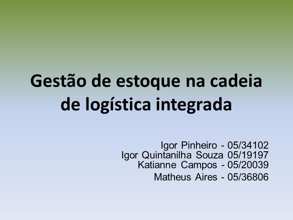 Gestão de estoque na cadeia de logística integrada