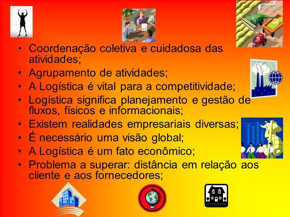 Coordenação coletiva e cuidadosa das atividades;