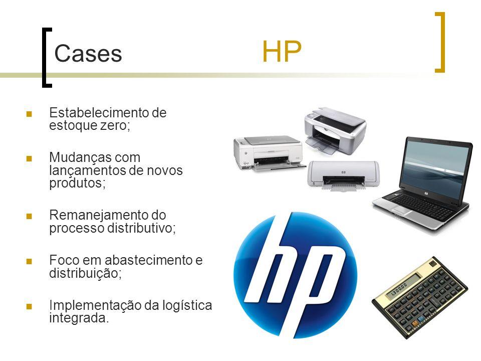 Cases HP Estabelecimento de estoque zero;