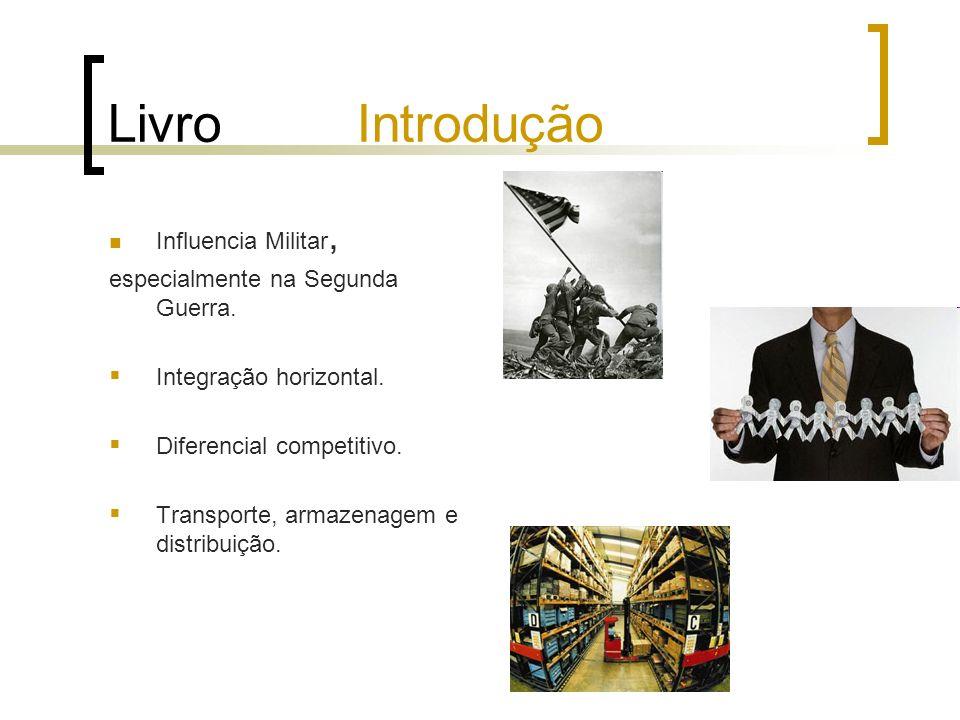 Livro Introdução Influencia Militar, especialmente na Segunda Guerra.