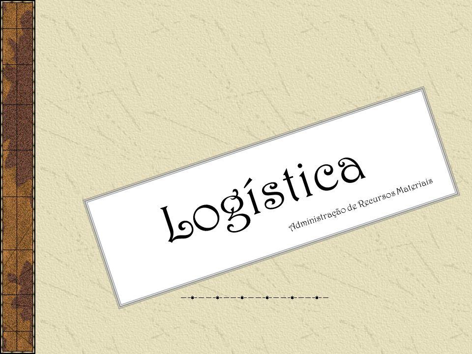 Logística Administração de Recursos Materiais