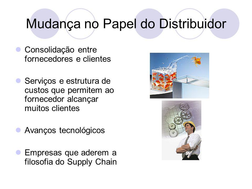 Mudança no Papel do Distribuidor
