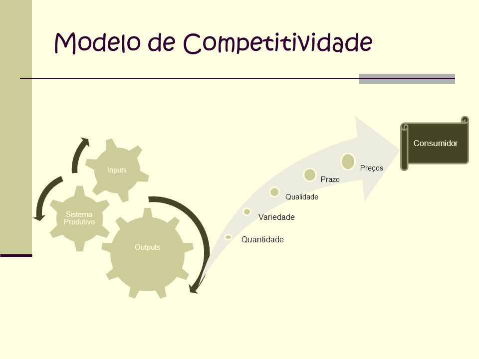 Modelo de Competitividade
