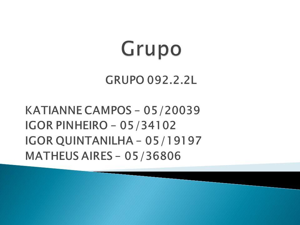Grupo GRUPO 092.2.2L KATIANNE CAMPOS – 05/20039