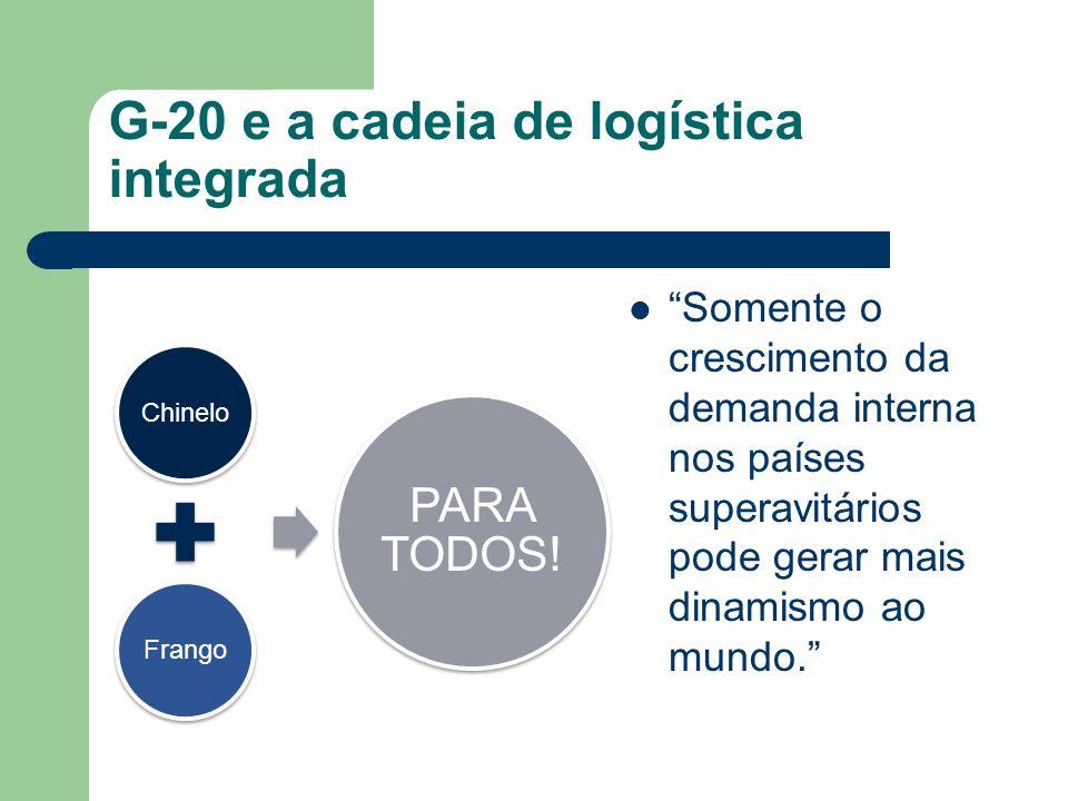 G-20 e a cadeia de logística integrada