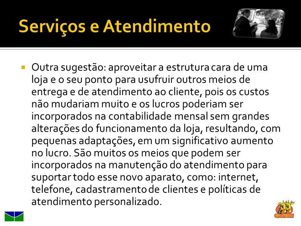 Serviços e Atendimento
