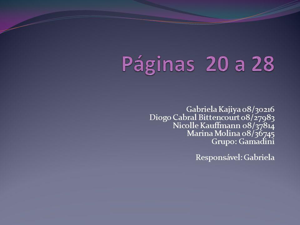 Páginas 20 a 28 Gabriela Kajiya 08/30216