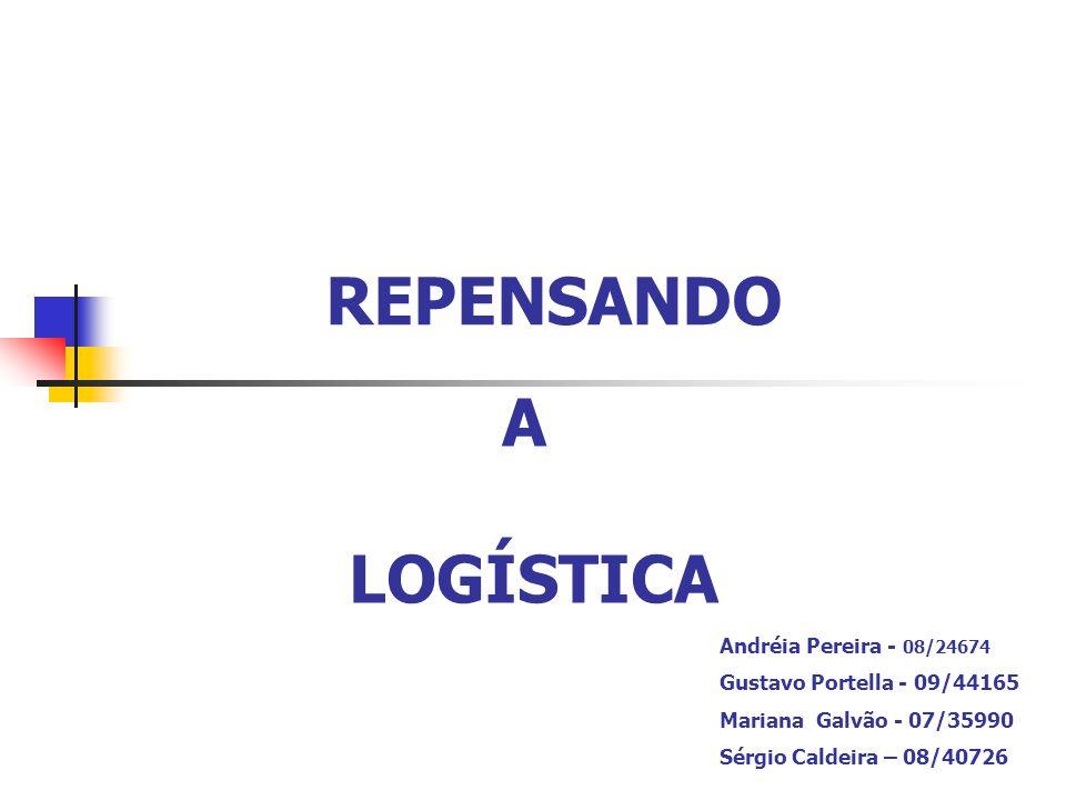 REPENSANDO A LOGÍSTICA Andréia Pereira - 08/24674