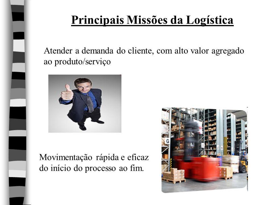 Principais Missões da Logística