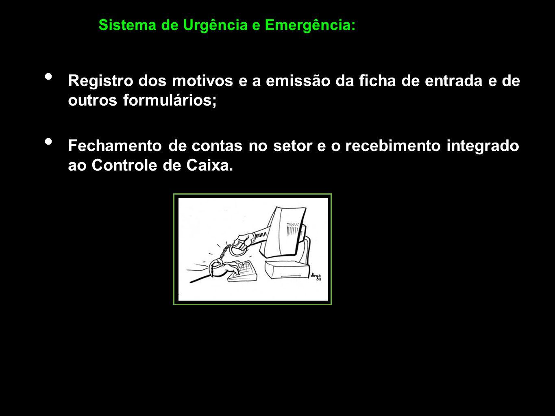 Sistema de Urgência e Emergência: