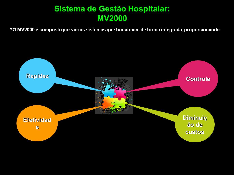 Sistema de Gestão Hospitalar: MV2000