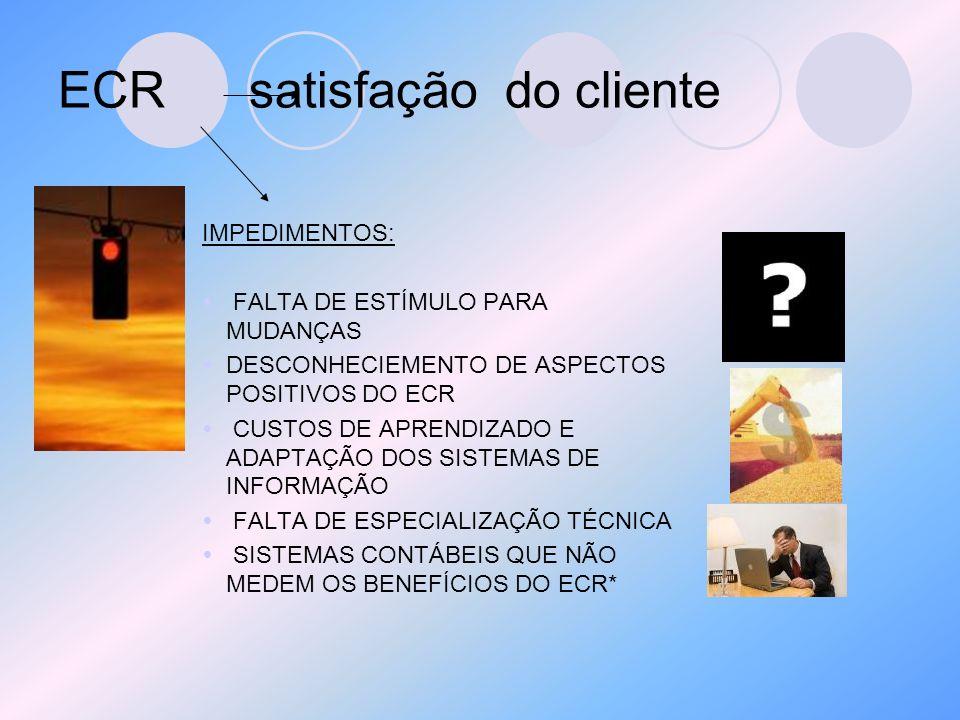 ECR satisfação do cliente