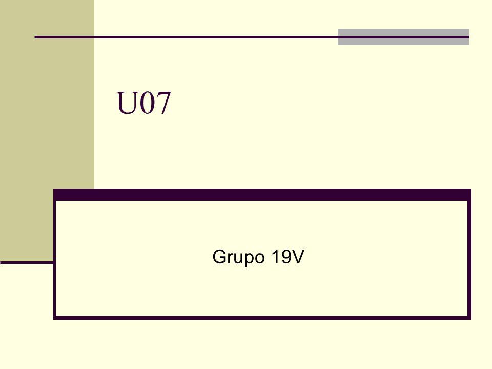 U07 Grupo 19V