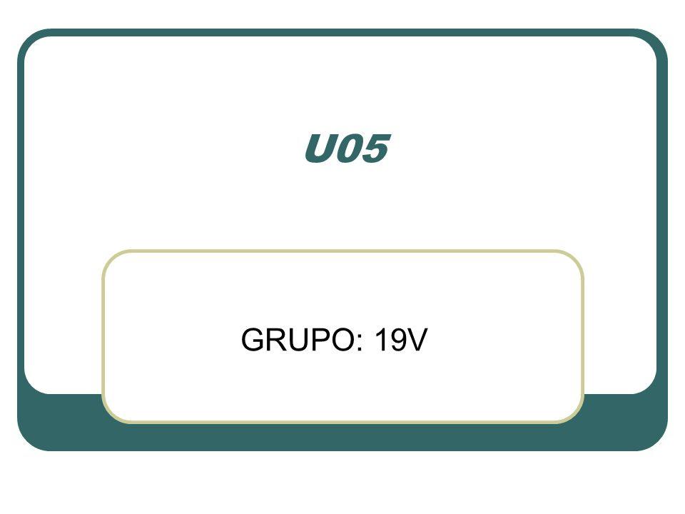 U05 GRUPO: 19V
