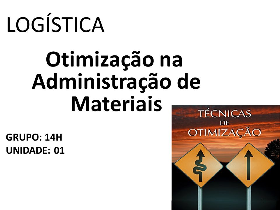 Otimização na Administração de Materiais