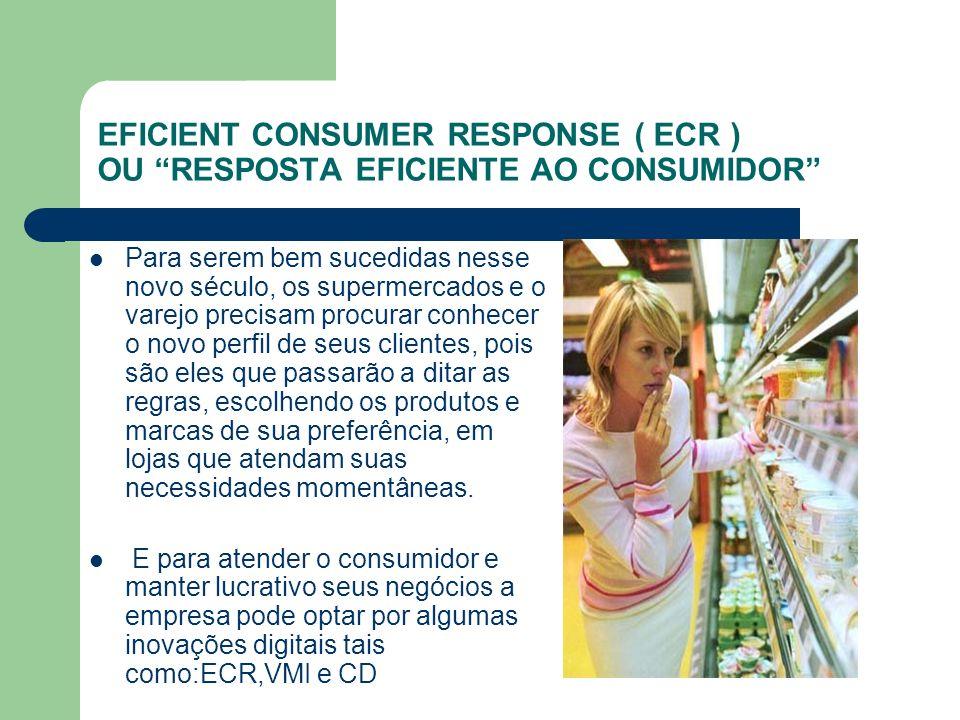 EFICIENT CONSUMER RESPONSE ( ECR ) OU RESPOSTA EFICIENTE AO CONSUMIDOR