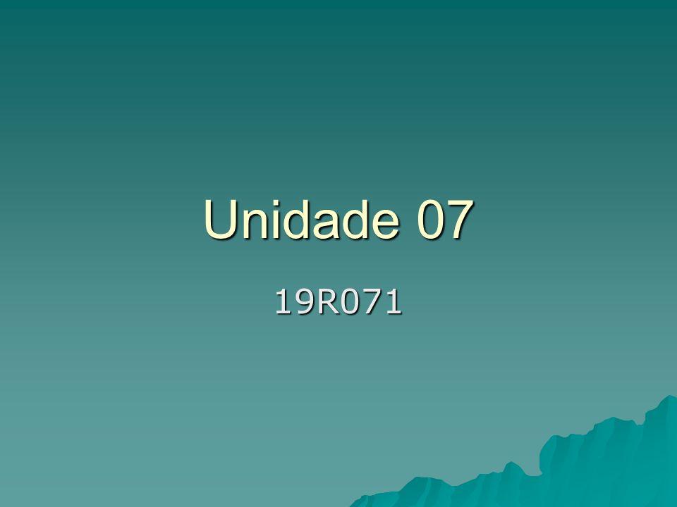 Unidade 07 19R071