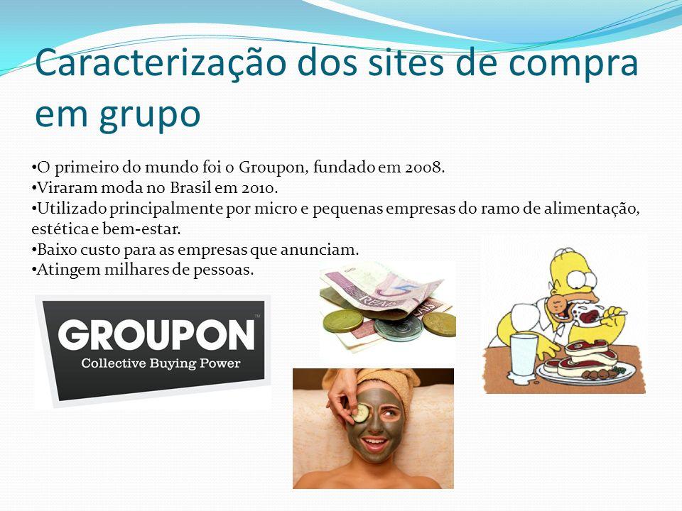 Caracterização dos sites de compra em grupo