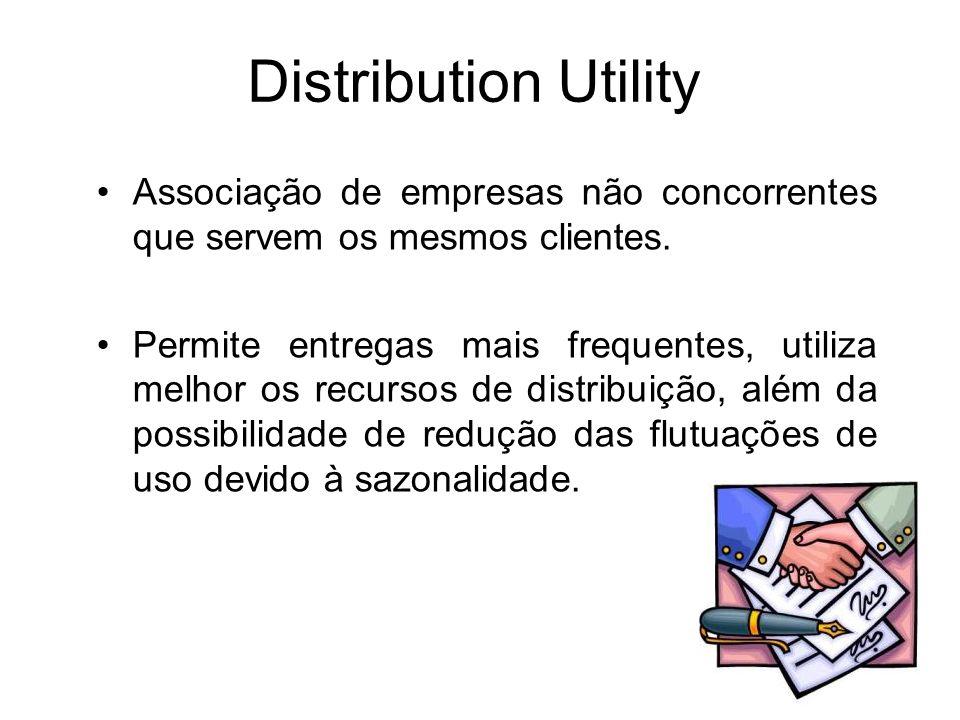 Distribution Utility Associação de empresas não concorrentes que servem os mesmos clientes.