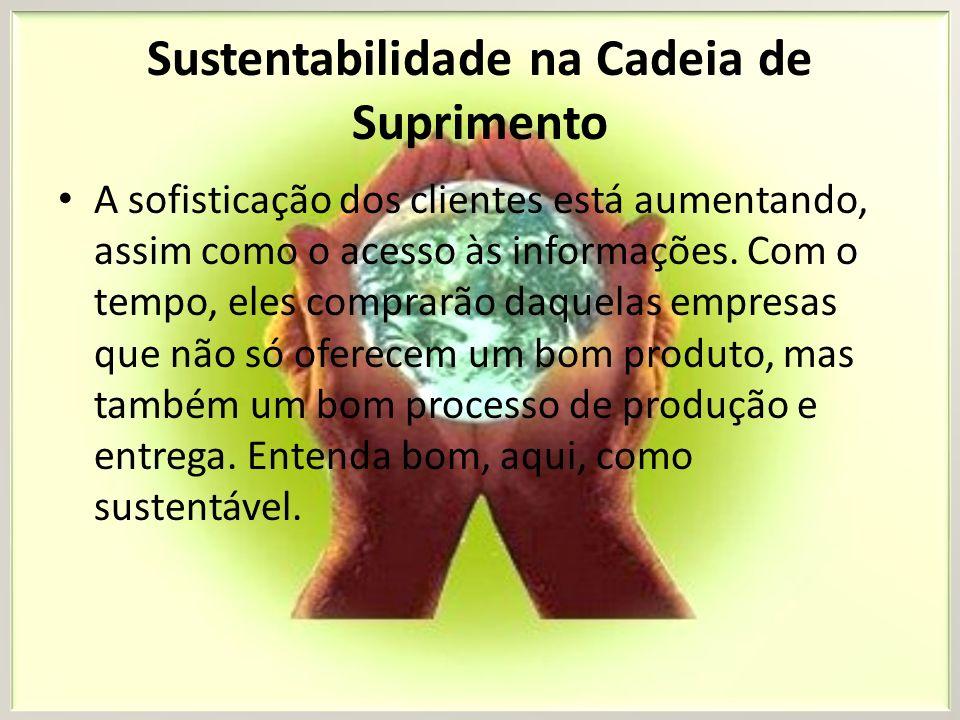 Sustentabilidade na Cadeia de Suprimento