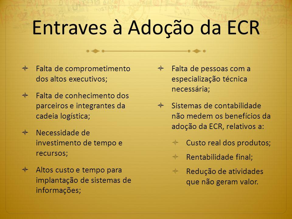 Entraves à Adoção da ECR