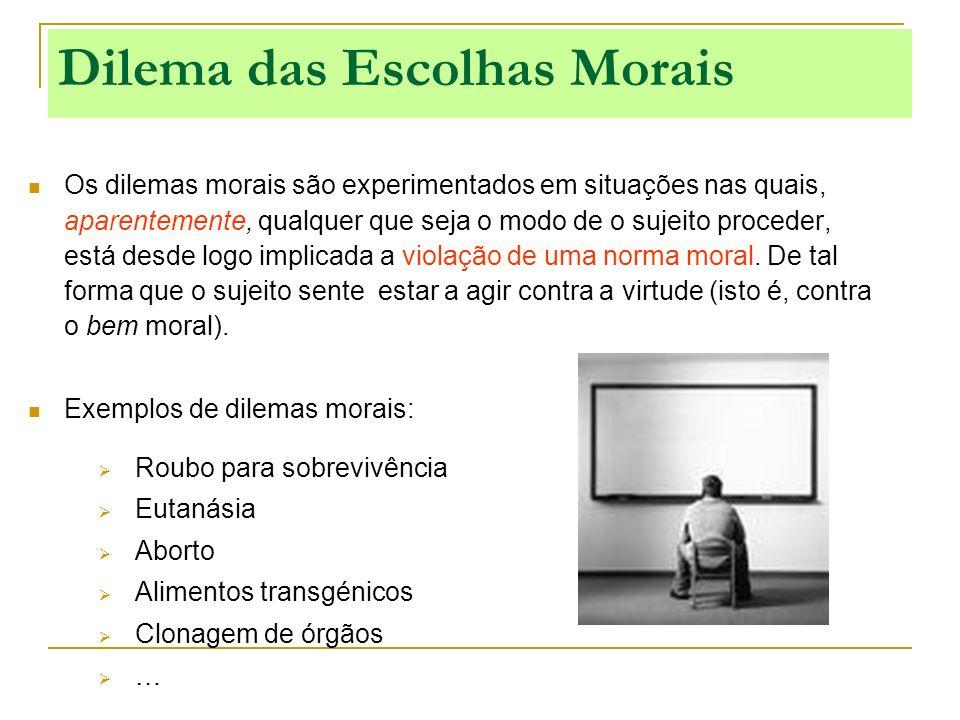 Dilema das Escolhas Morais
