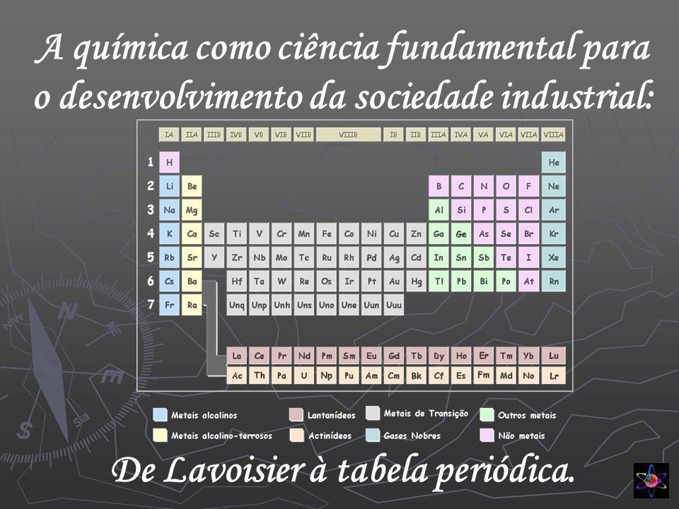 De Lavoisier à tabela periódica.