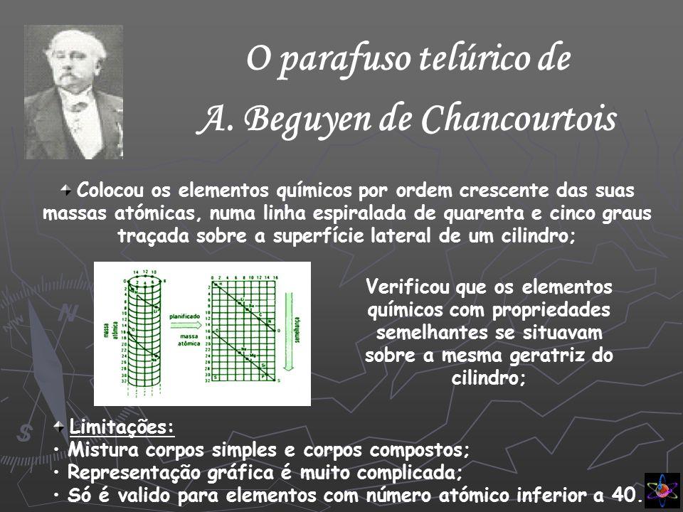 A. Beguyen de Chancourtois