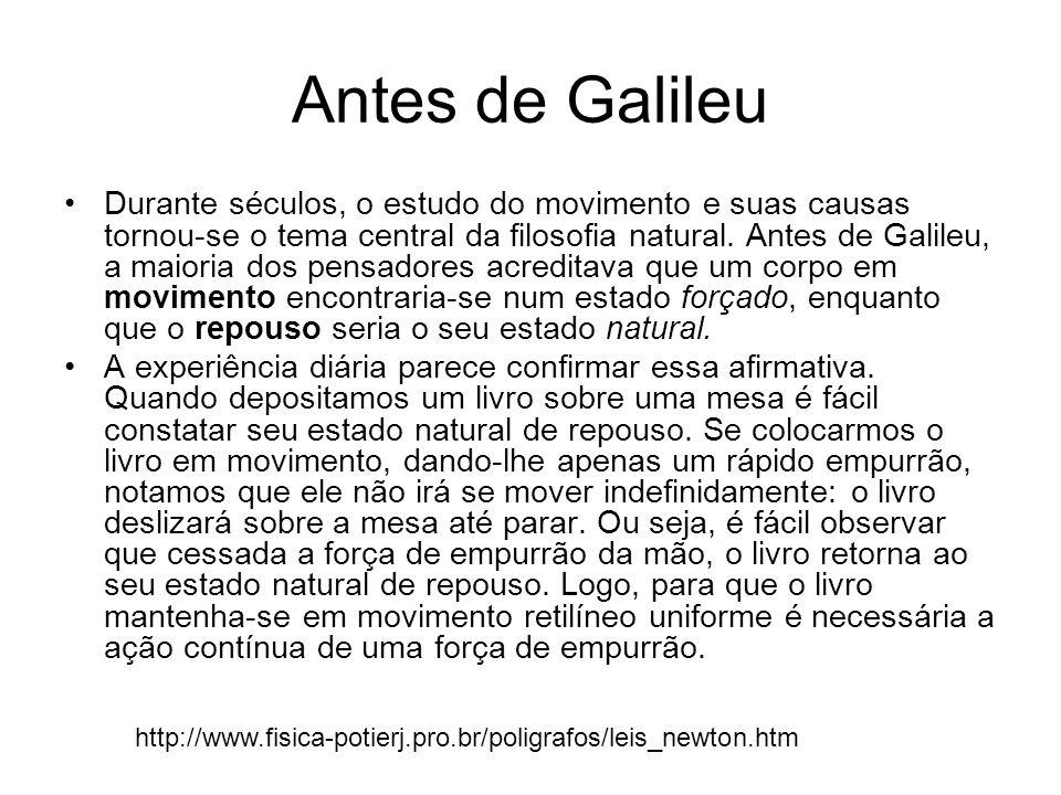 Antes de Galileu
