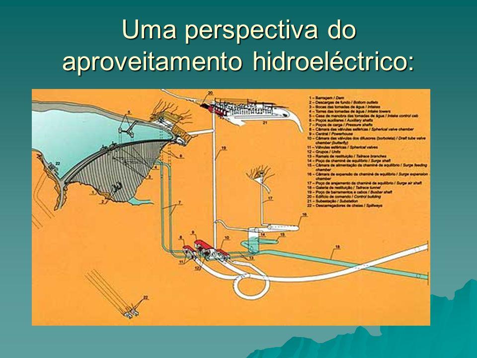Uma perspectiva do aproveitamento hidroeléctrico: