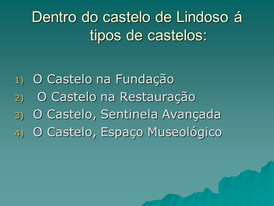 Dentro do castelo de Lindoso á tipos de castelos: