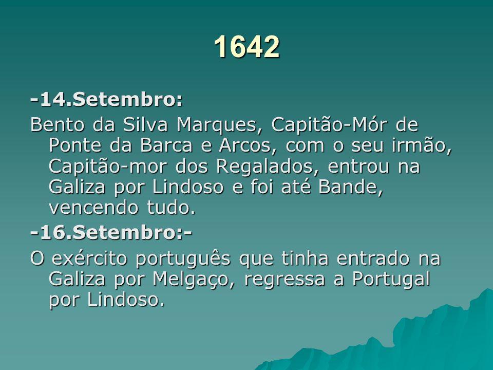 1642 -14.Setembro: