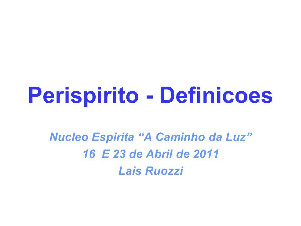 Perispirito - Definicoes