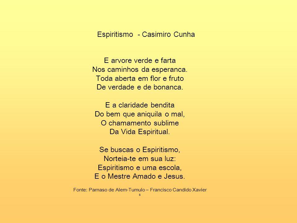 Espiritismo - Casimiro Cunha