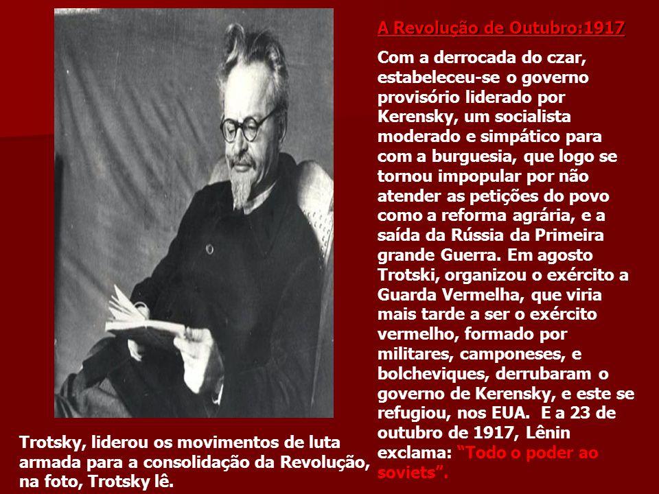 A Revolução de Outubro:1917