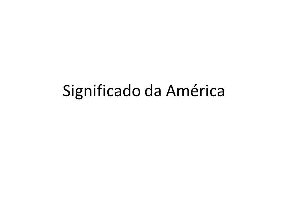 Significado da América