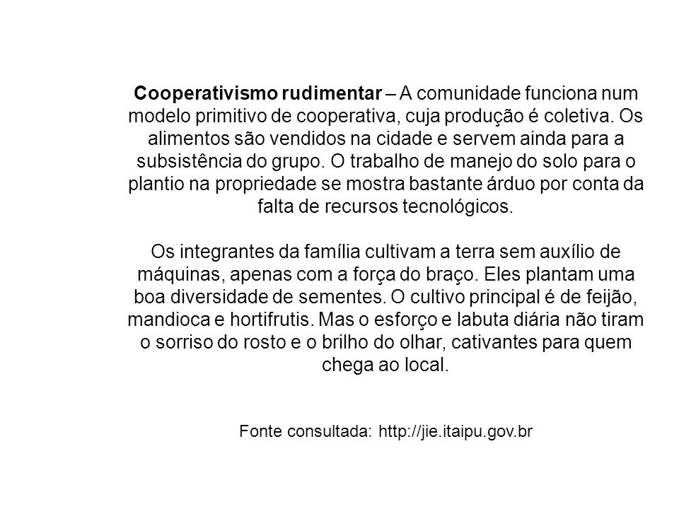 Fonte consultada: http://jie.itaipu.gov.br