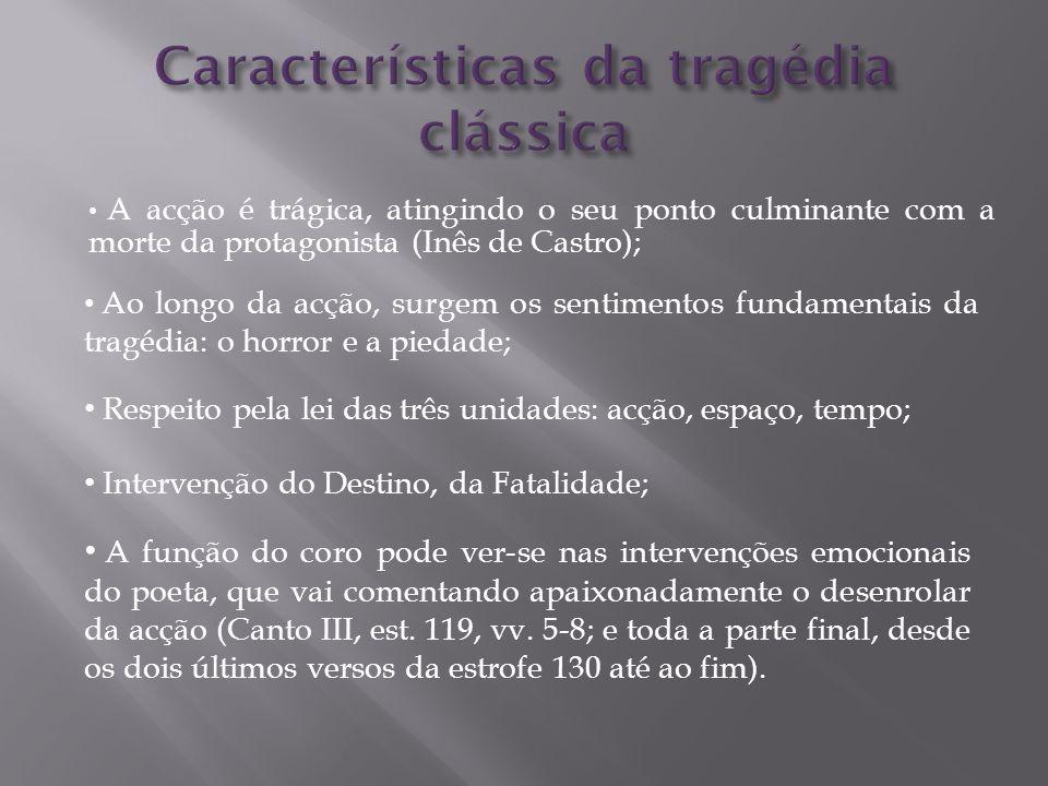 Características da tragédia clássica