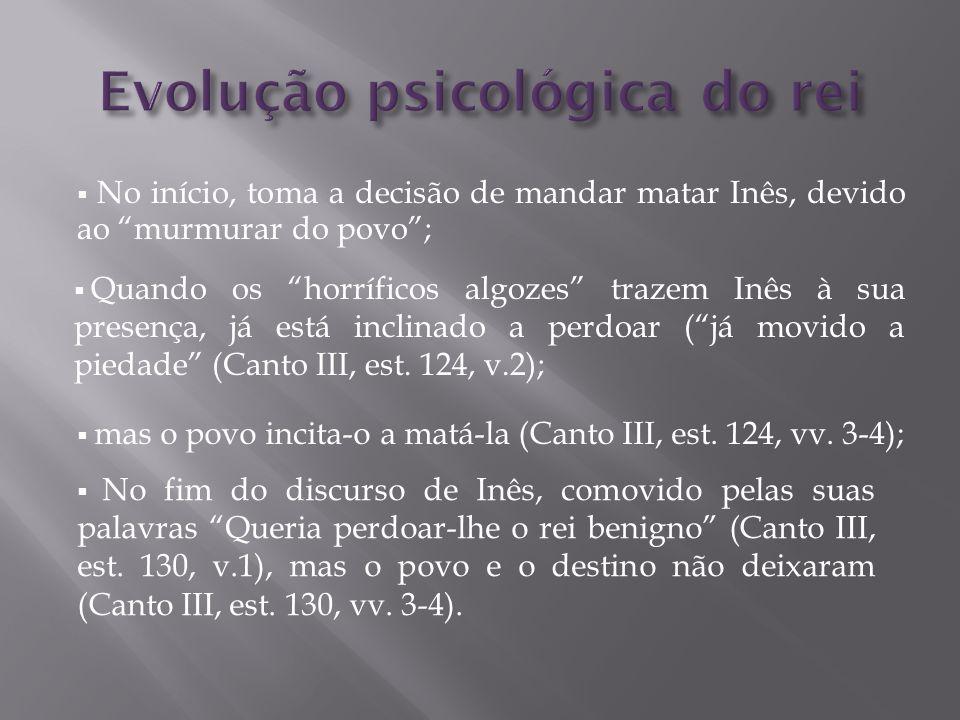 Evolução psicológica do rei